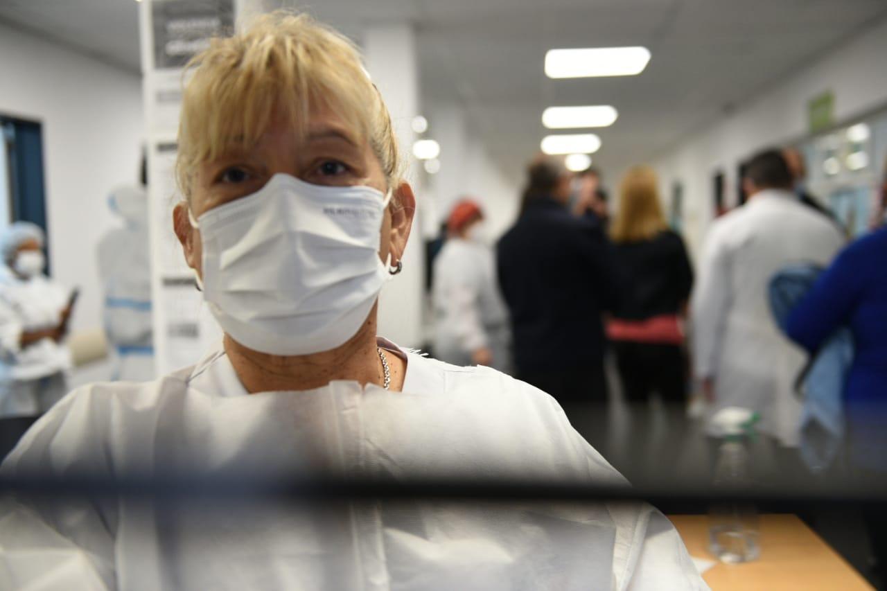 tres de febrero celebra el dia del trabajo homenajeando a los profesionales de la salud
